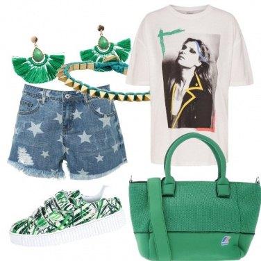 Outfit La maglietta pop