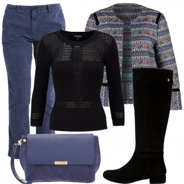 Outfit Stivale flat