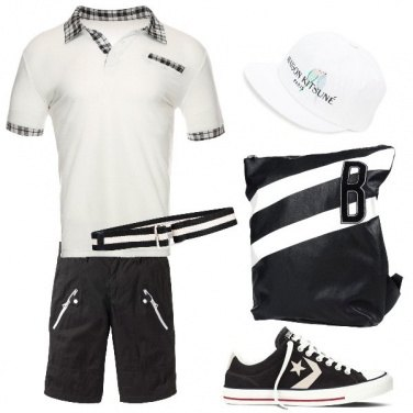 Outfit City black & withe