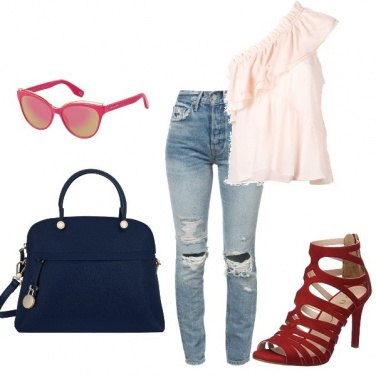 Outfit Color chic