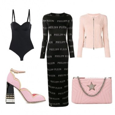 Outfit Serata rock pink