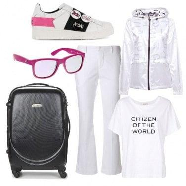 100 018ei1g002 Giacca White Donna Sports Bianco ESPRIT Sportiv 1Zwpp0