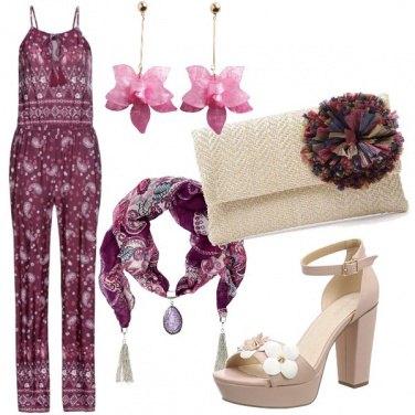 Outfit Di fiori e fantasie etniche