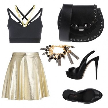 Outfit CMPS Yoox rock nite
