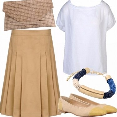 Outfit Sofisticated beige