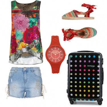 Outfit Puntuale in aeroporto