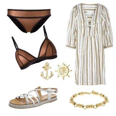 Outfit CMPS Metal bikini