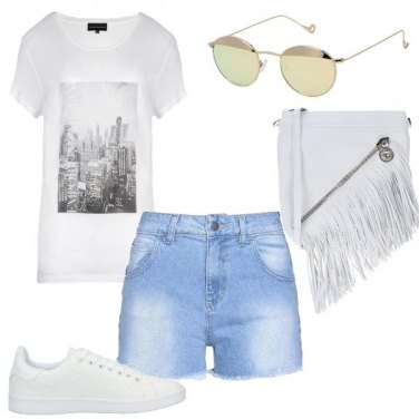 Outfit Rock shorts