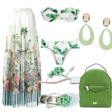 Outfit Tropical look