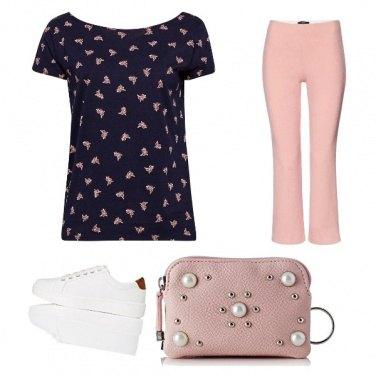 Outfit Rosa di sera