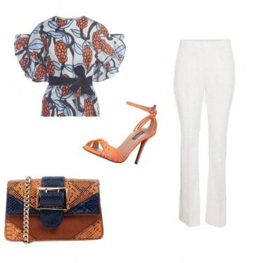 Outfit Etnico chic #2714