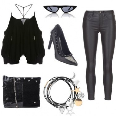 Outfit Rock elegance