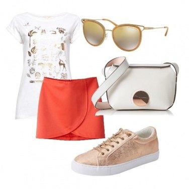 Outfit La mini arancio