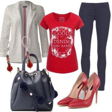 Outfit L'alternativa al tailleur