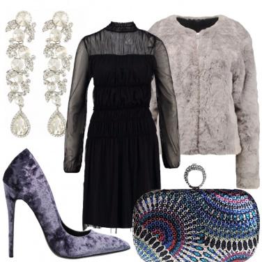 Outfit Purple e ghiaccio