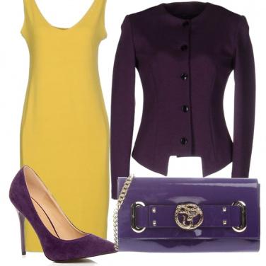 Outfit Tocchi di viola