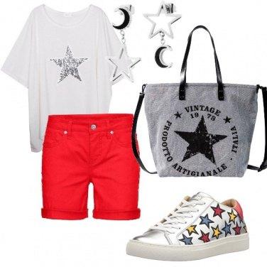 Outfit Una pioggia di stelle