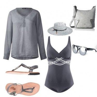 Outfit Mare grigio