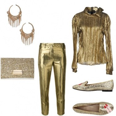 Outfit Total gold