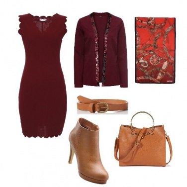 Outfit Con un tocco di paillettes