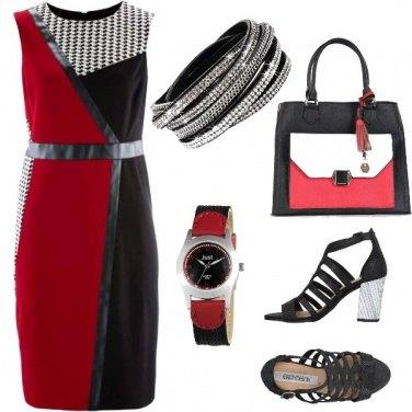 Outfit Ufficio: color block
