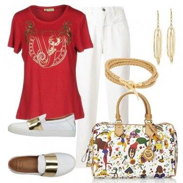 Outfit TSK Quelque chose de rouge
