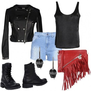 Outfit Rock in saldo