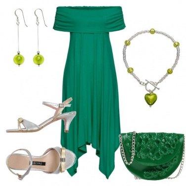 Outfit TSK Tonalità verdi