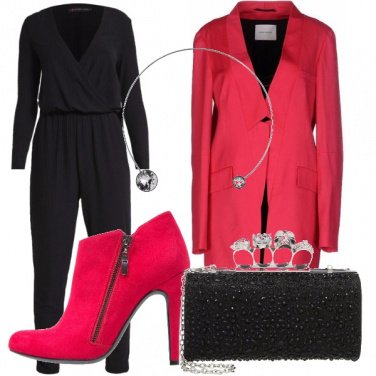 Outfit Rosa fragola