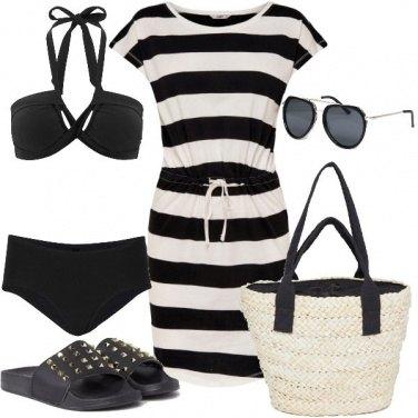 Outfit Ciabattina borchiata