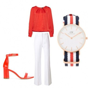 Outfit Bella in rosso