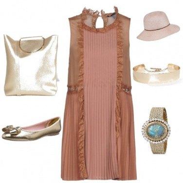 Outfit Cappuccino e cornetto