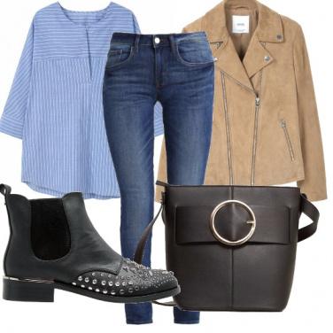 Outfit Un look facile ma ricercato