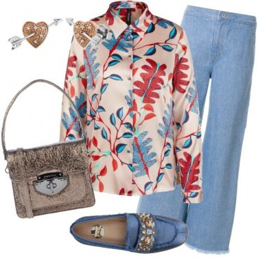 Outfit Jeans comodo