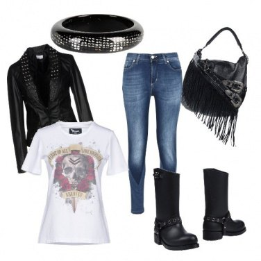 Outfit Rockstar inside