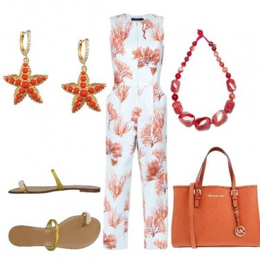 Outfit Coralli e stelle marine