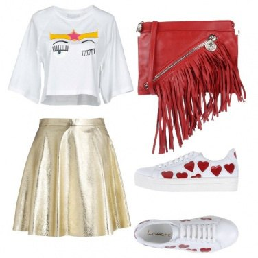 Outfit Oro trendy