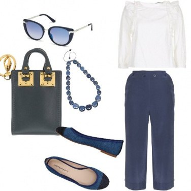 Outfit Trendy, semplice, elegantemente comoda