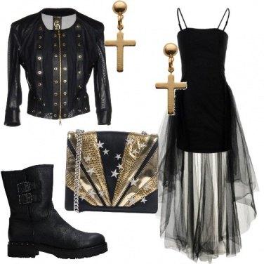 Outfit Serara rock