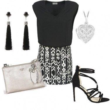 Outfit LA serata nel locale trendy