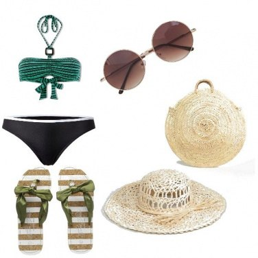 Outfit Look da Spiaggia