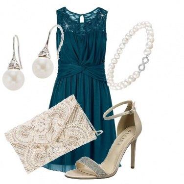 Outfit Voglia di perle e lustrini