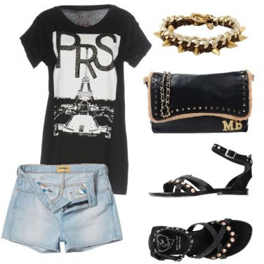 Outfit Rock mood