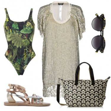 Outfit Jungel on the beach