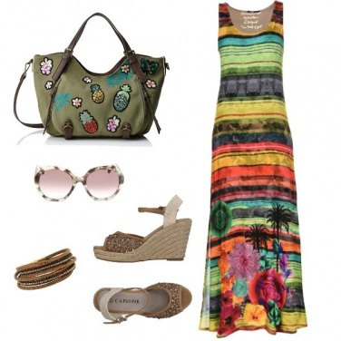 Outfit Aperitivo easy