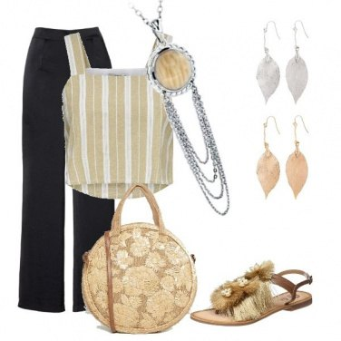 Outfit In beige