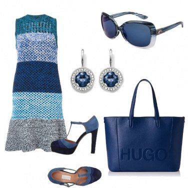 Outfit Fantasie in blue