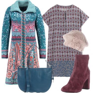 Outfit Il cappottino colorato