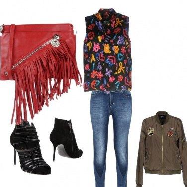 Outfit Serata rockstar
