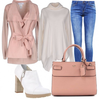 Outfit Fiocco rosa